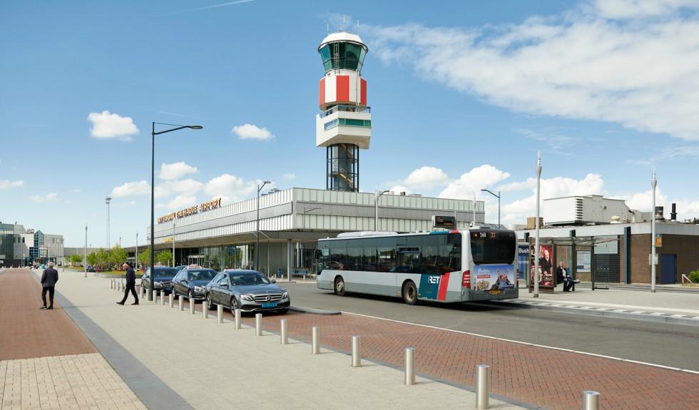 Bushalte Rotterdam The Hague Airport Business Park