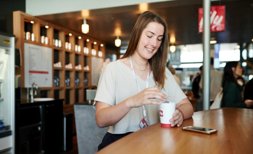 Coffee Corner Terminal Rotterdam The Hague Airport