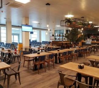 De Horizon Cafe Terminal Rotterdam The Hague Airport